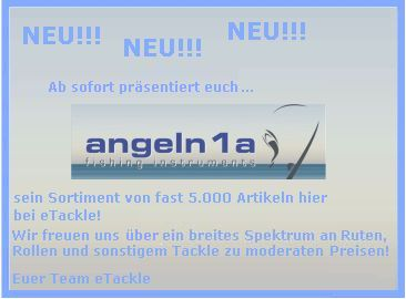 angeln1a tackle angelshop angelwebshop onlineshop angeln